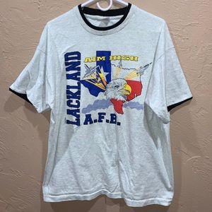 Vintage 80s Lackland Texas Air Force Base Shirt